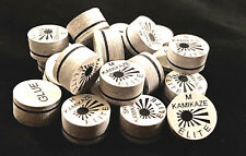 NEW....Kamikaze ELITE Layered Cue  Tips  14 MM  (MIX) (20 Tips)  Fast Shipping.