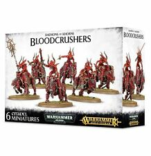 Warhammer Daemons of Khorne Bloodcrushers (6 Figures), New Toys And Games