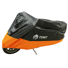 NEW Orange 190T UV Dust Rain Waterproof Motorcycle Cover XXL For Kawasaki Ducati