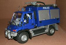 1/24 Scale Mercedes Benz Unimog U400 Police Riot Control / SWAT Team Unit Model