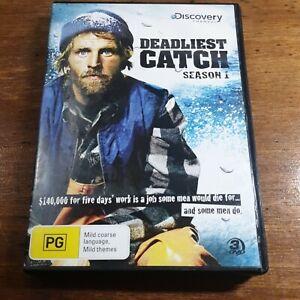 Deadliest Catch Season 1  DVD R4 VERY GOOD FREE POST