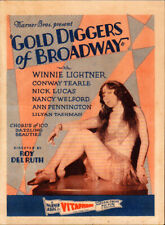 Gold Diggers of Broadway Original  Movie Herald from the1929 Movie