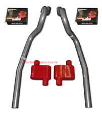 86 04 Ford Mustang Gt 46 50 Performance Exhaust System With Cherry Bomb Extreme