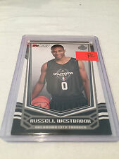 2008/9 Topps Tip Off Basketball Russell Westbrook Oklahoma City Thunder rookie