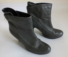 "Women's Principles Bottines en cuir 4"" Talon Taille UK 7 EUR 40 Gris"