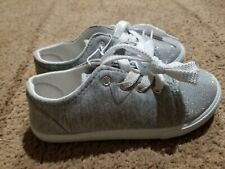 Sparkly Grey Girls Sneakers sz 12. New
