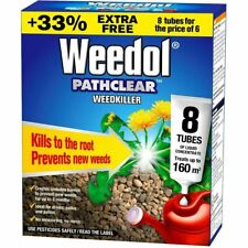 Weedkiller Liquid Concentrate Weed Killer Weedol Pathclear 8 Tubes Drives Root