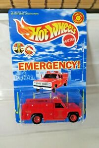 EMERGENCY L.A. SQUAD 51  HOT WHEELS 30th Anniversary Special Edition  MOC