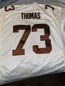 Joe Thomas Signed Autographed Cleveland Browns Jersey
