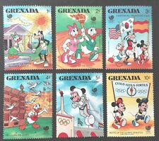 GRENADA STAMPS MNH Disney Olympic Games - Seoul, South Korea, 1988, **