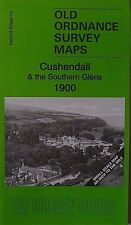 Old Ordnance Survey Maps Cushendall & the Southern Glens 1900 S14 Brand New