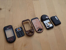 Original Nokia 7370 7373 komplett Cover | Tastatur | Akkudeckel Bronze NEU