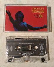 OZZY OSBOURNE LIVE & LOUD 1993  TAPE CASSETTE ALBUM [BLACK SABBATH]