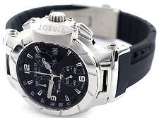 Tissot T0482171705700  Women's T-Race Chronograph Black Dial Rubber Band Watch