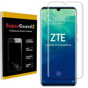 SuperGuardZ Clear FULL COVER Screen Protector Guard Shield For ZTE Axon 10 Pro
