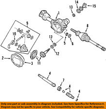 FORD OEM Front-Axle Seals F57Z3254AA