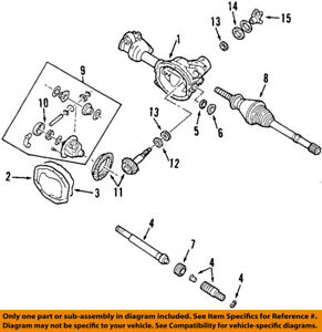 FORD OEM 84-97 F-250 Rear Differential-Side Bearings B7A4221A