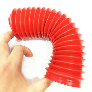 Red Rubber Front Fork Shock Absorber Dust Cover Gators Boots fit for Motorcycle
