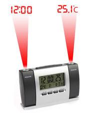 Sveglia a proiezione sui muri soffitti proiettore mostra data ora e temperatura
