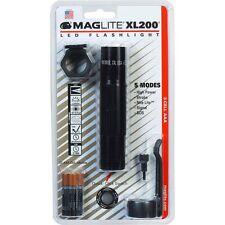 Mag-lite Xl200 Led 3-cell Aaa Flashlight - Aaa - Aluminum - Black