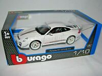 Bburago 1:18 Scale Porsche 911 GT3 RS 4.0 White Diecast Car 18-11036 NEW IN BOX