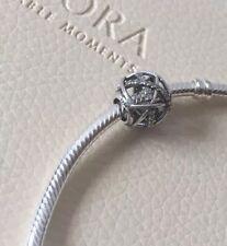Genuine Pandora Sterling Silver Sparkling Galaxy Openwork Charm 791388CZ ALE S92