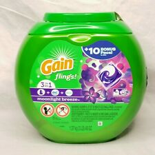 Gain Flings 3-in-1 Laundry Detergent Pacs Moonlight Breeze  61 count