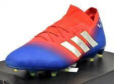 ADIDAS NEMEZIZ 18.1 FG - New Men's Soccer Cleats Firm Ground BB9444 Red Blue