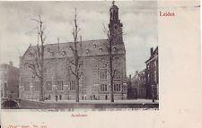 Netherlands Leiden - Academie undivided back unused postcard