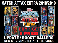 Topps ☆ MATCH ATTAX EXTRA 2018/19 18/19 ☆ BUY 1 GET 5 FREE!!