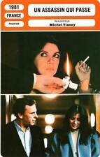 FICHE CINEMA : UN ASSASSIN QUI PASSE - Trintignant,Laure,Berry,Vianey 1981