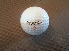 SIGNATURE GOLF BALL-LES STROKES VINTAGE GOLF BALL...