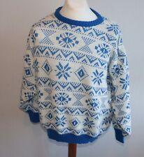 HERREN Island  Norweger STRICK Pullover ca Gr XL 30%  WOLLE