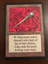 DISRUPTING SCEPTER Collector's Edition Magic the Gathering MTG 93/94 Old  CE IE