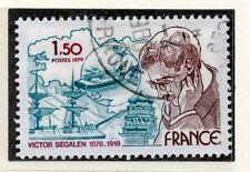 TIMBRE FRANCE OBLITERE N° 2034 VICTOR SEGALEN / Photo non contractuelle