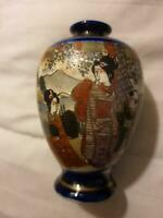 Antique Japanese satsuma small vase