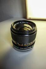 28mm f2.0 Canon FD SSC Fast Wide Angle PRIME, ottime condizioni & Sony NEX adattatore