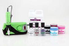 Synergy Acrylic Starter Kit Pro- Lime Green--> includes monomer & E-File!!