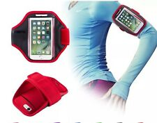 iPhone 4 / 4s Gym Running Sports Arm Band Sports Exercise Strap Red