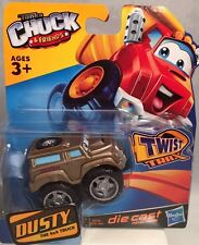 "New Tonka Chuck & Friends ""DUSTY"" Die Cast Truck for use with Twist Trax Hasbro"