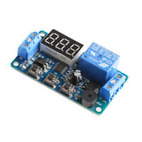 12V LED Display Programmable Timer Relay Module Delay Switch Board Car Buzzer