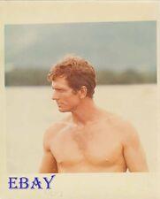 Ron Ely barechested Tarzan Vintage Photo