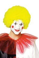 yellow CLOWN WIG adult womens mens halloween costume