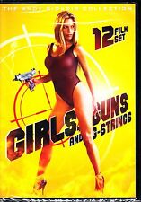 GIRLS GUNS AND G STRINGS ANDY SIDARIS COLLECTION ADULT 12 films R1