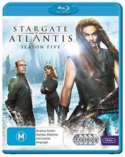Stargate Atlantis : Season 5 (Blu-ray, 2012, 4-Disc Set)