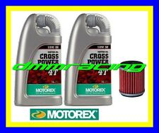 Kit Tagliando HUSQVARNA 125 SMR SMS TE + Filtro Olio MOTOREX Cross Power 10W/50