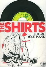 """THE SHIRTS Tell Me Your Plans 7""""-Single"""