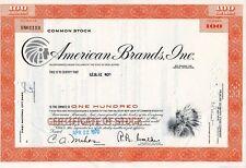 American Brands, Inc. Stock Certificate 1970