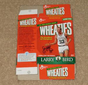 Vintage 1999 Larry Bird Celtics Basketball Wheaties Mini Cereal Box 30 Grams