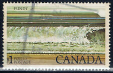 Canada #726(1) 1979 $1.00 FUNDY NATIONAL PARK GT2 TAGGED Used